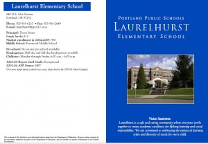 Laurelhurst school district info portland