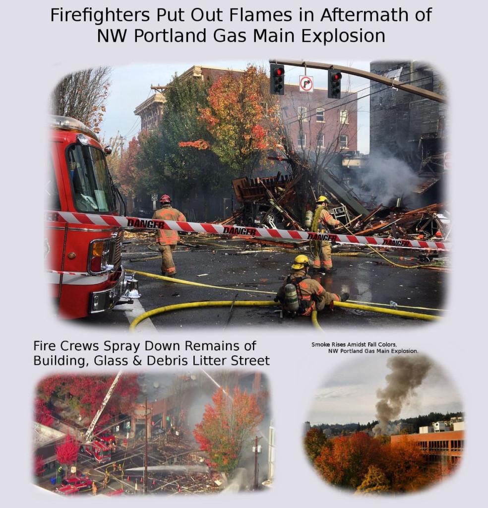 Explosions in Northwest Portland, Oregon Destroy Portland Bagelworks