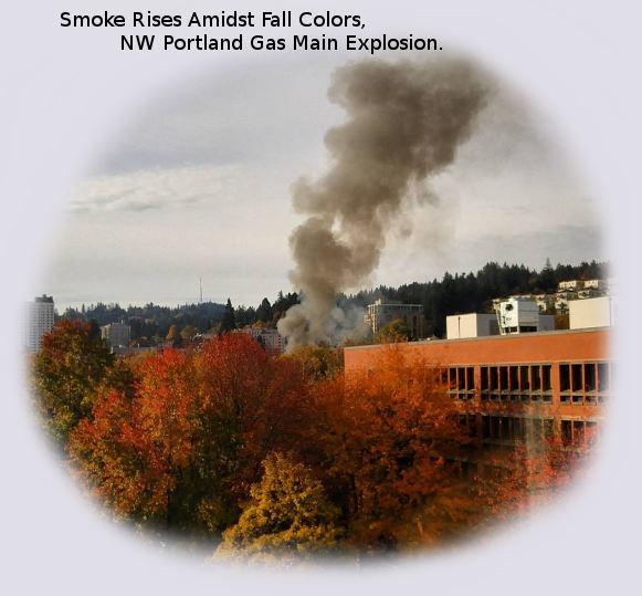 Fire, Explosions Rock NW Portland, Oregon