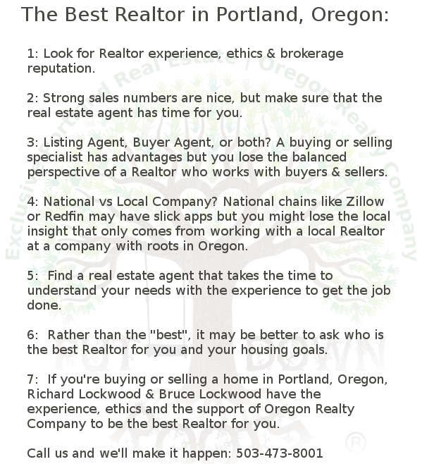 Best Real Estate Agent in Portland, Oregon