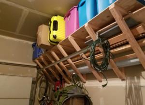 Home Project: DIY Garage Storage