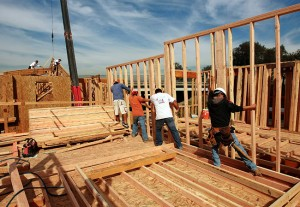 Portland Home Builders Constructing a New Home