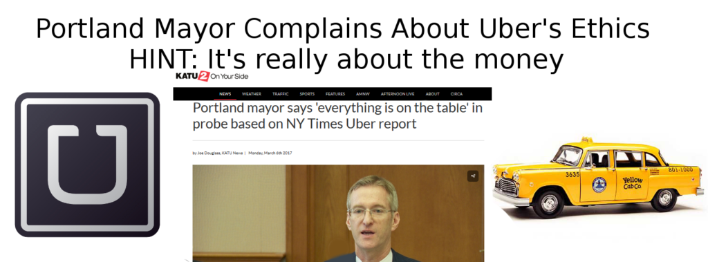 Portland Mayor Ted Wheeler Accuses Uber of Dubious Ethics in Greyball Probe